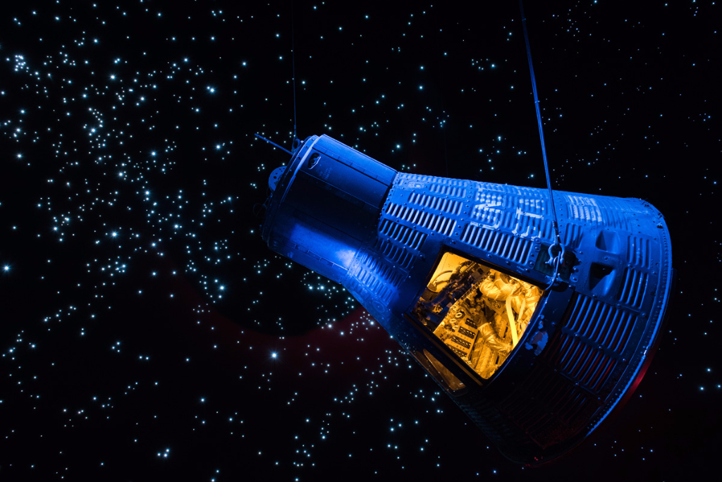Starship Gallery at Space Center Houston.