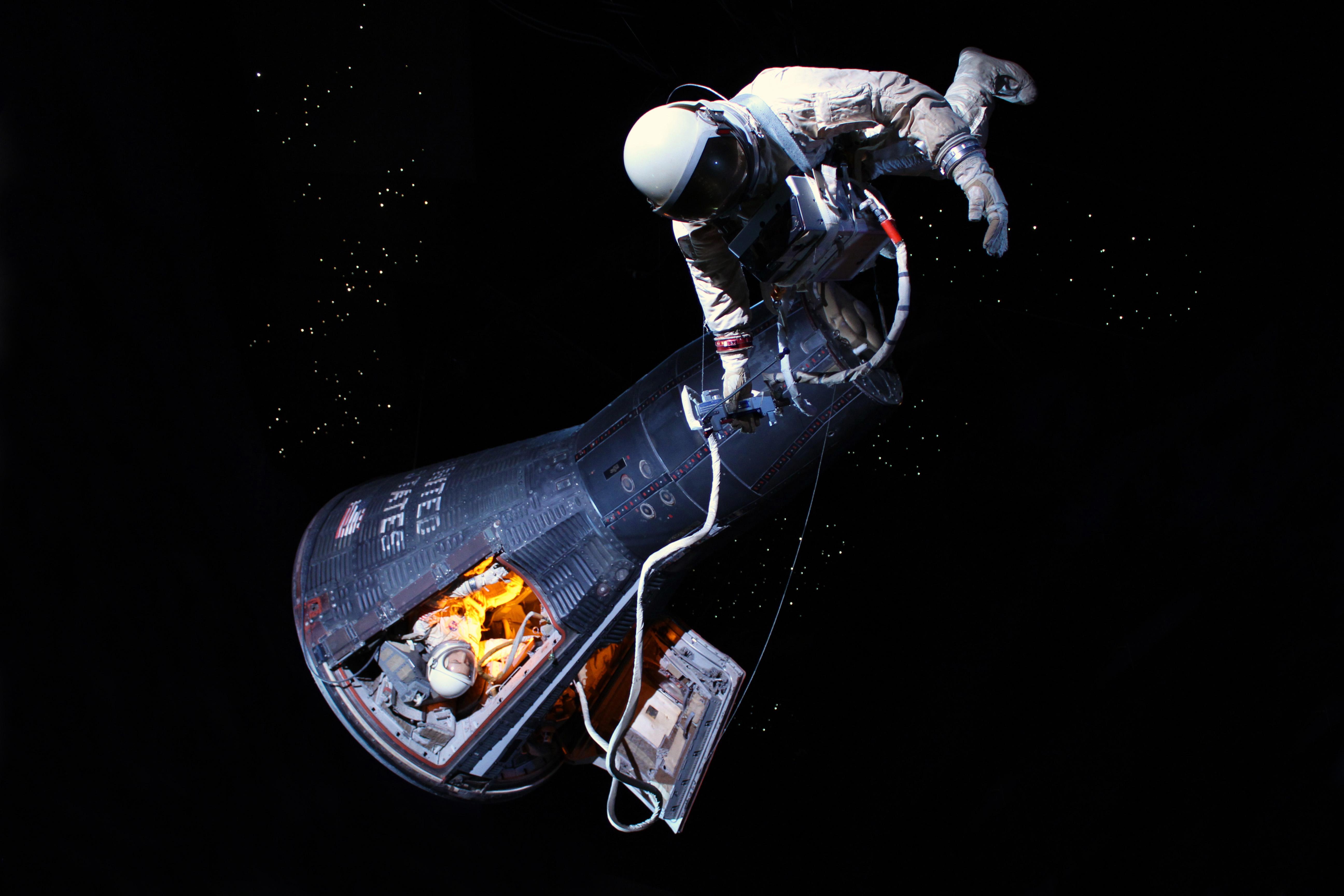 Gemini V capsule in our Starship Gallery.
