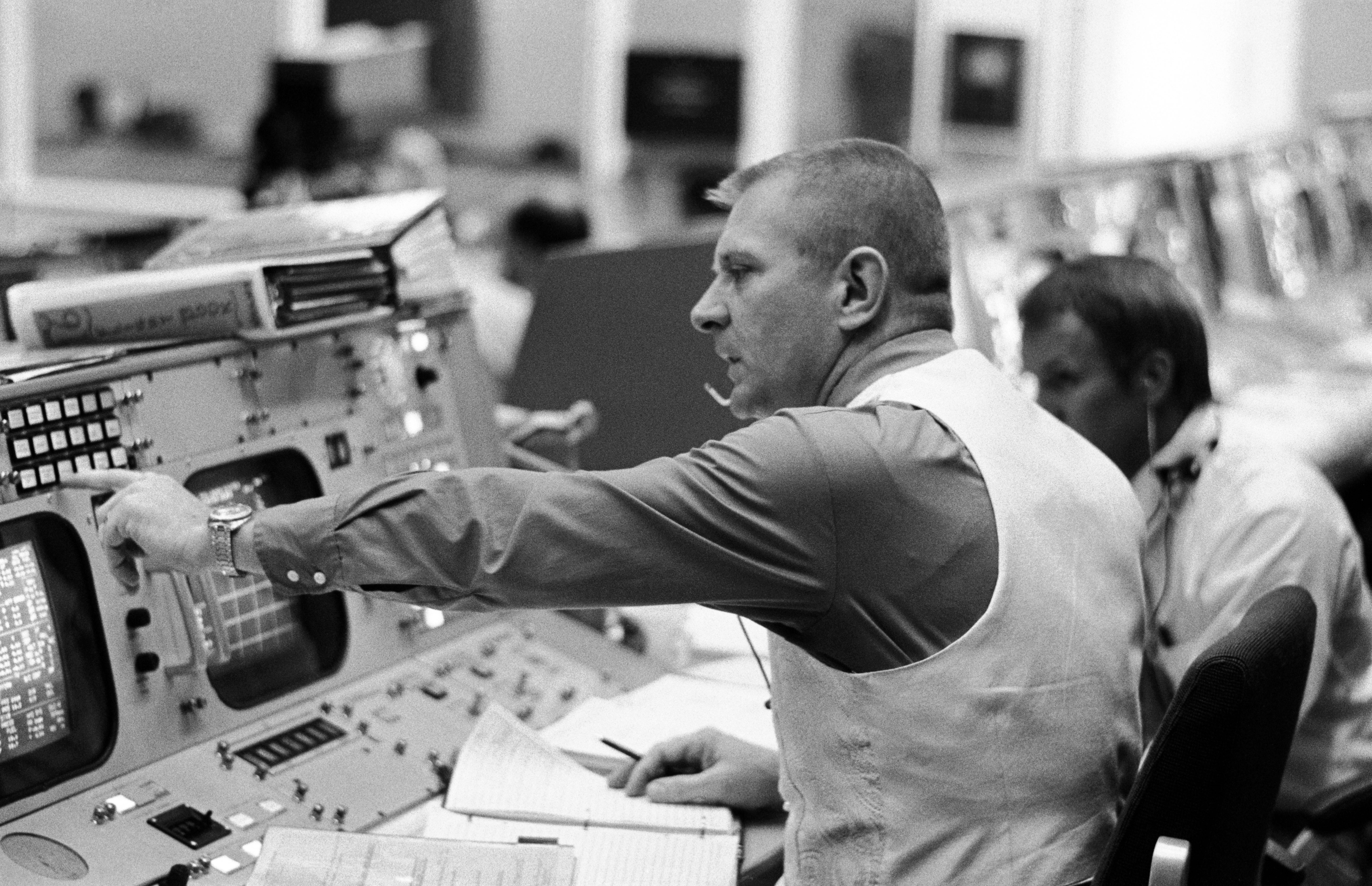 Apollo Flight Director, Gene Kranz, was honored at the 2018 To the Moon and Beyond luncheon.