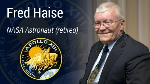 VIDEO: Thought Leader Series - A Conversation with Apollo 13 Astronaut Fred Haise
