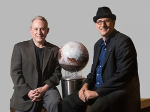 VIDEO: Thought Leader Series - Alan Stern and David Grinspoon discuss the New Horizons mission