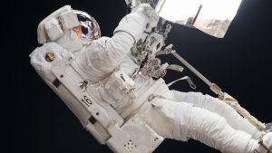 Joe Acaba spacewalk