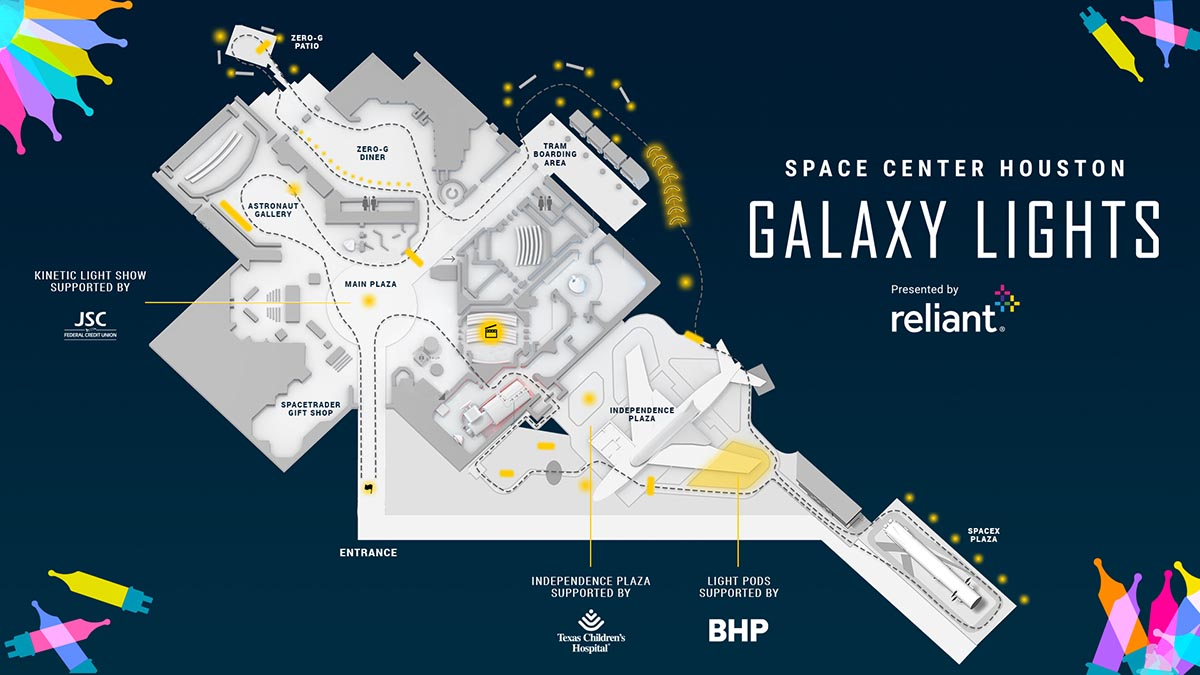 Galaxy Lights Map