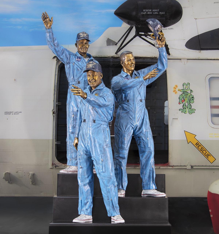 Apollo 13 sculpture